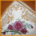 Дизайн вышивки скатерти